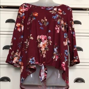 Tops - *Size medium floral top